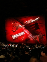 Spiderman on Broadway